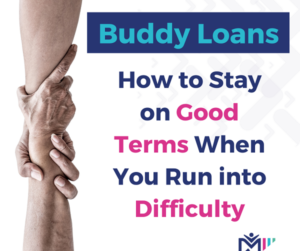 a blog post about managing credit with buddy loans