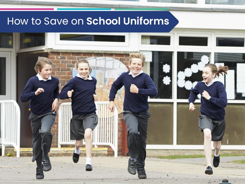 Parents saving money on children school uniforms